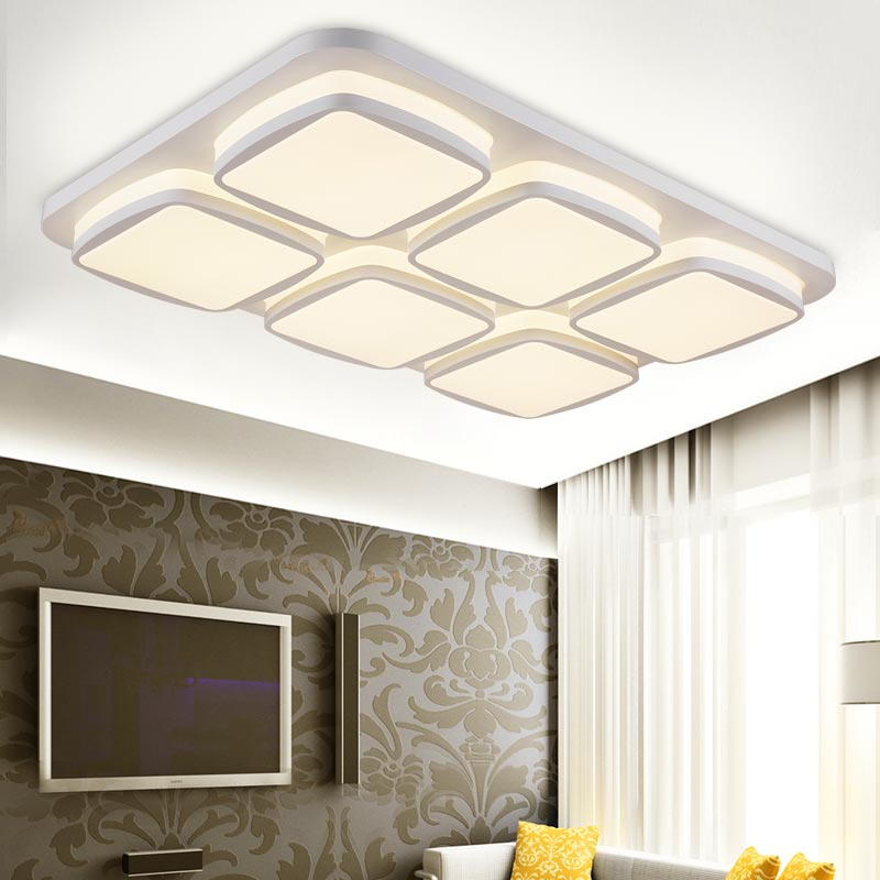 12W Led Lamp Modern Big Ceiling Light Fixtures Bedroom Living Room Kitchen Decor White Iron Acrylic Indoor Home Lighting 220V japanese style living room bedroom led ceiling lights home indoor decoration lighting light fixtures modern led ceiling lamp