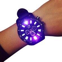 Reloj 2017 New Design Unisex Males Girls Quartz Analog Wrist Luminous Watch Watches Dropshipping 17Jan22