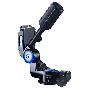 Image 3 - Manbily VH 60 Double Handle  Aluminum 3D Hydraulic Damping Tripod PTZ Panoramic Shooting  tripod head