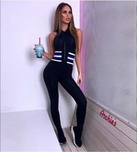 New Black Sexy&Club Tank Bodycon High Quality Women Rompers Bandage Jumpsuits Evening Party