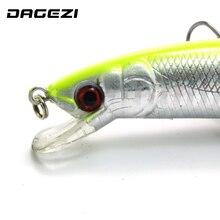 DAGEZI 4PCS/Lot Minnow Fishing Lures  DeepSwim Saltwater Hard Bait 15CM/18G Artificial Baits Minnow Fishing Spoon Wobbler Pesca