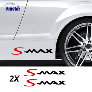 2pcs car body sticker for ford smax s-MAX(China)