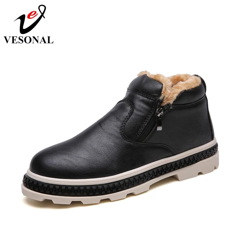 Hiver Shoes Mode Shoes Hommes brown Pour Zipper Chaussures Courte Adulte Peluche High Conduite Marque Top Chaud gray Shoes Vesonal Populaire Tendance Black Marche wpOzxqB