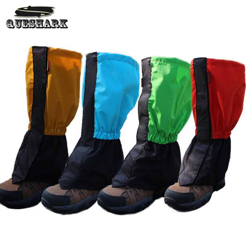 Outdoor Camping Hiking Climbing Cycling Shoes Cover Rain Proof Snow Covers Biker Gaiters Waterproof Skiing Overshoes Boot Cover