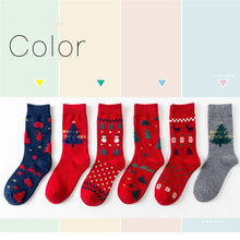 JAYCOSIN 3-pairs frauen socken weihnachten geschenk socke mode winter nette wolle 3d damen verrückte socke weibliche thermische warme socken 20 #(China)