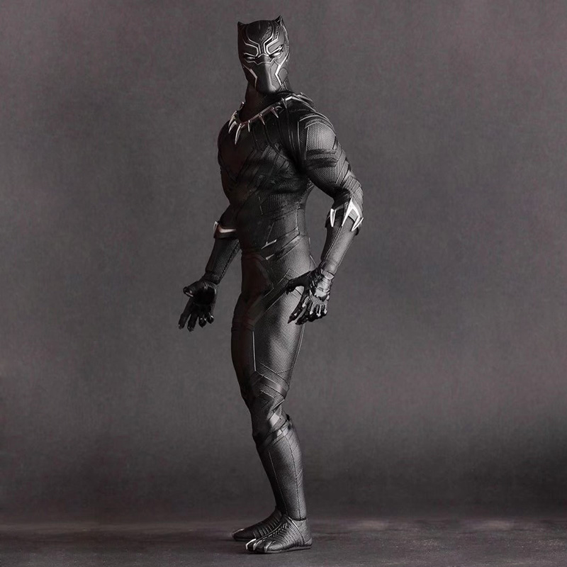 """12"""" Movie Avengers Black Panther Action Figure 1/6 scale painted figure Crazy Toys Birthday"""
