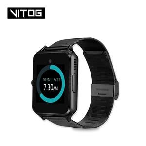 Image 1 - Z60 Bluetooth โทรศัพท์สมาร์ทนาฬิกาผู้ชายผู้หญิงสนับสนุน 2G SIM TF Card สำหรับ Android Iphone Huawei Xiaomi Smartwatchs PK GT08 X6