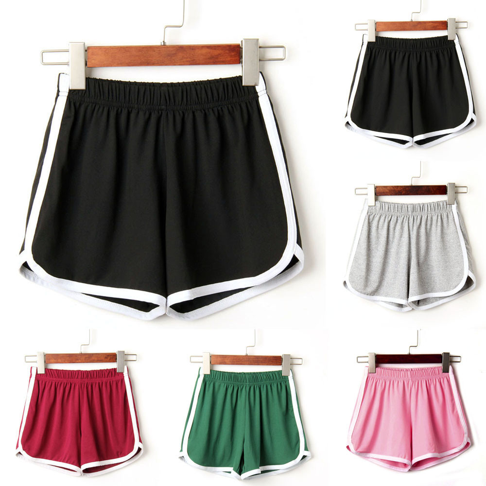Women Summer Sport Biker Shorts Casual hot daily basic easy Short Holiday running Solid Brief Short Feminino Mujer#sw