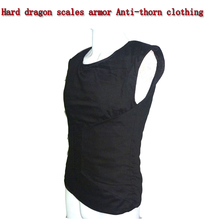 Self-defense Anti-Stab Vests Hard dragon scales armor Anti-thorn clothing Fit Lightweight invisible Body Protection Anti-cut Top aa shield bullet proof soft panel body armor inserts plate uhmwpe core self defense supply ballistic nij lvl iiia 3a 10x12 pair