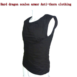Self-defense Anti-Stab Vests Hard dragon scales armor Anti-thorn clothing Fit Lightweight invisible Body Protection Anti-cut Top
