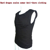 Self defense Anti Stab Vests Hard dragon scales armor Anti thorn clothing Fit Lightweight invisible Body Protection Anti cut Top