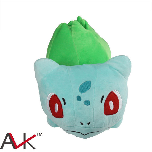 28cm Pocket Monster Plush Toy Pokemon Big Bulbasaur Plush Dolls Children's Toy Boy&girl Christmas Gift Anime Fans To Collect Toy