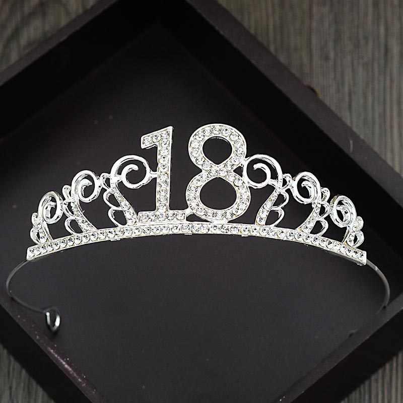 Moda bolo de cozimento decoração meninas 18 aniversário hairband headwear senhoras temperamental oco coroa acessórios da faixa de cabelo
