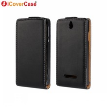 Cover for Sony Xperia E Case Flip Leather Covers for Sony Xperia E Dual C1505 C1605 C1604 C1504 Coque Fundas Carcasas Hoesjes