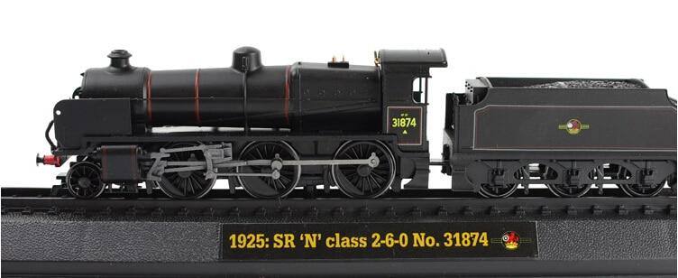 ФОТО 1.76 AM ER Retro Steam Train resin model 1925: SR