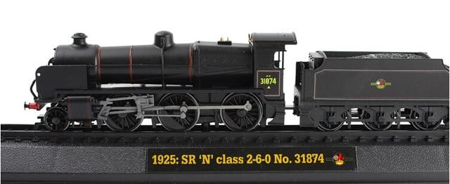 """1.76 AM ER Retro tren de vapor modelo de resina 1925 : SR """" N """" clase 260 NO.31874 regalo favorito"""