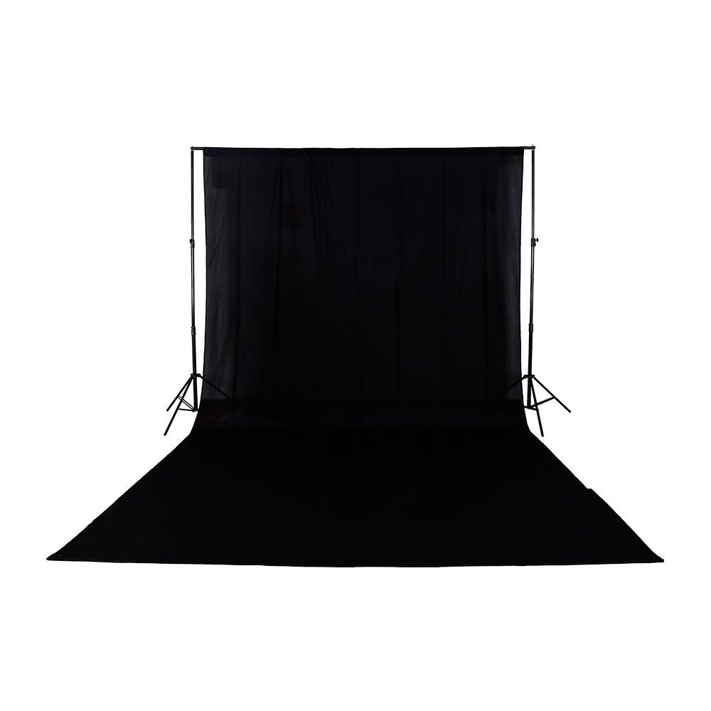Background 3m*6m /9.8ft*19.6ft Solid Seamless Cotton Cloth Photography Backdrop Black Green White OptionalBackground 3m*6m /9.8ft*19.6ft Solid Seamless Cotton Cloth Photography Backdrop Black Green White Optional