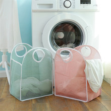 Foldable Clothes Storage Baskets Washing Dirty Laundry Basket Portable Underwear Sundries Organizer Toys Container