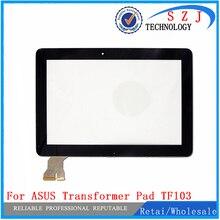 """Nuevo 10.1 """"pulgadas tablet funda de piel para ASUS Transformer Pad TF103 TF103CG Pantalla Táctil Del Panel Digitalizador Reemplazo De Cristal Envío gratis"""