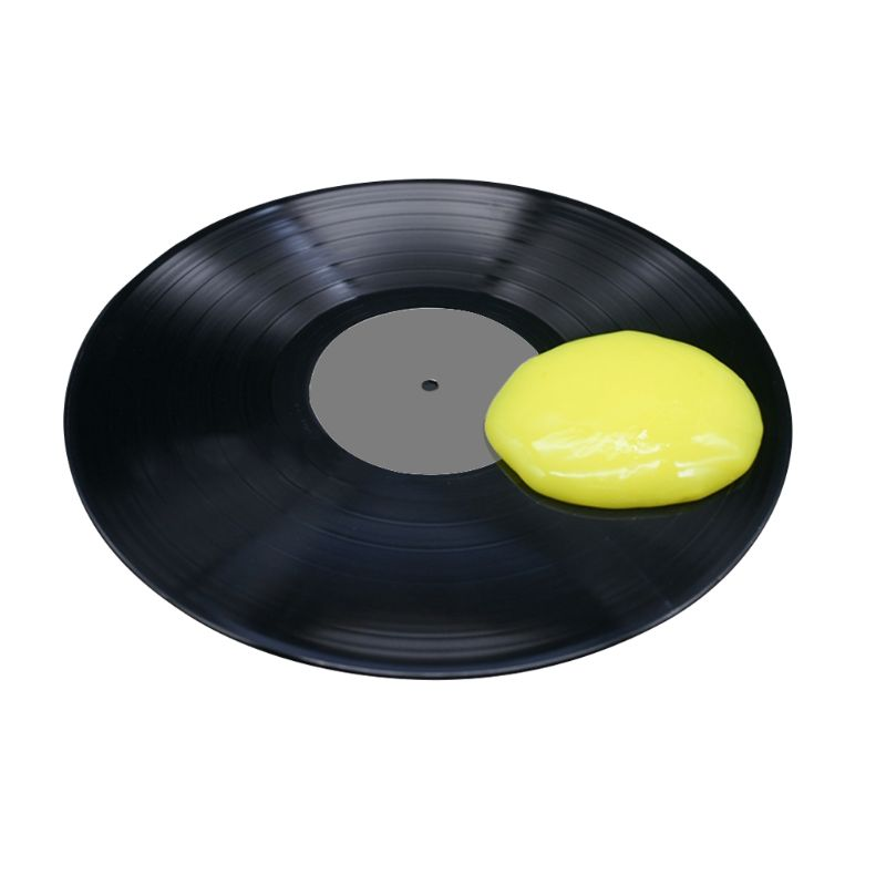 Magic Dust Cleaner Compound LP Vinyl Record Cleaning Soft Rubber Turntable Vinyl Cartridge Cleaning Super Clean Slimy Gel