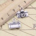 20 шт амулеты для камеры 15x14 мм тибетские серебряные цветные Подвески антикварные ювелирные изделия Сделай Сам ручной работы ремесло кулон