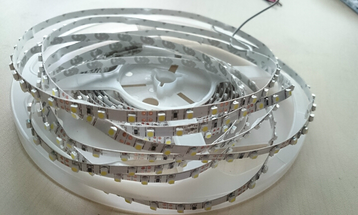 Free Shipping Nonwaterproof and waterproof 12v and 24v 120leds SMD3528 LED flexible Strip for light box 5m/roll , 50m/lot