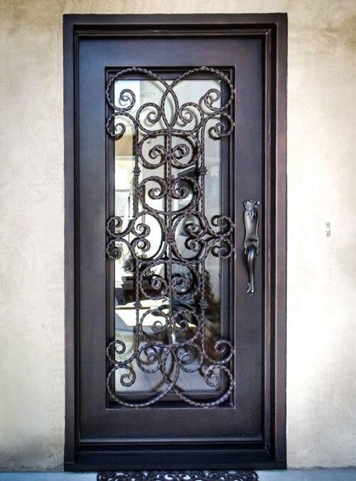 Business Glass Front Door