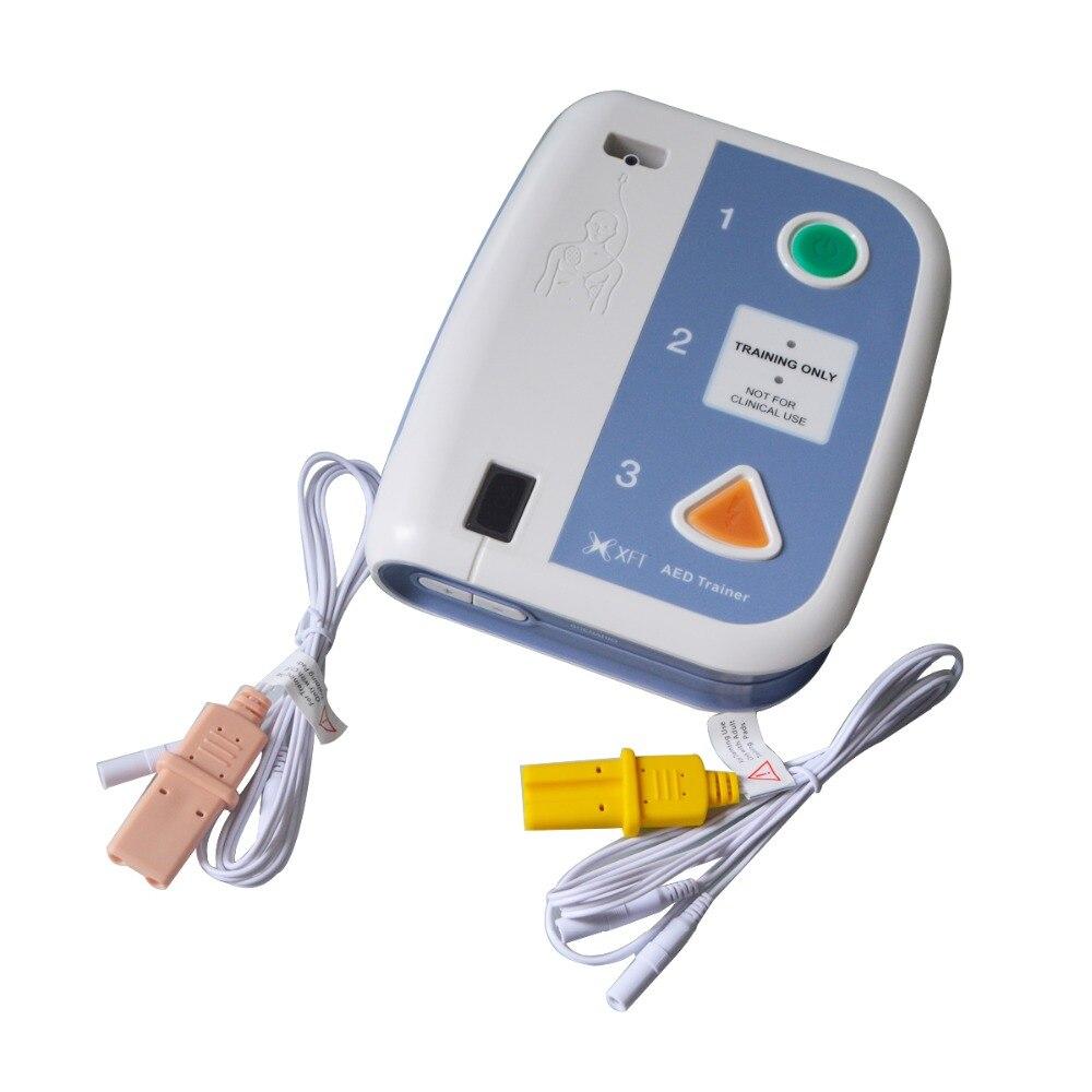 Image 2 - Новый Электронный тренажер AED 120C + с пультом дистанционного управления тренировочное устройство AED для обучения CPR аварийное обучение на английском и тайском языкахТовары для похудения    АлиЭкспресс