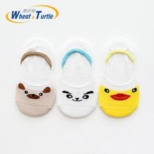 3Pcs/Lot 2019 Baby Infant Socks Newborn Cotton Boys Girls Cute Cartoon Toddler Anti-slip meia infantil calcetines