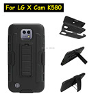 "New Future Armor Heavy Duty Rugged Belt Clip Defender Stand Case For LG X Cam XCam K580 5.2"" With Kickstand Cover"