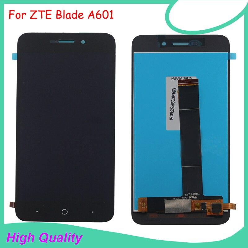 Para zte blade a601 ba601 pantalla lcd táctil 100% calidad original asamblea del