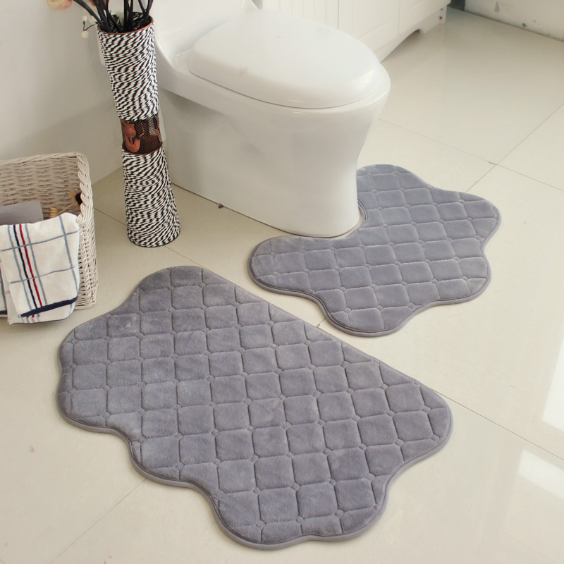 bath rugs bathroom shape banheiro simple u mats water slip carpet item tapete absorbent toilet set mat wc non from pcs in high home