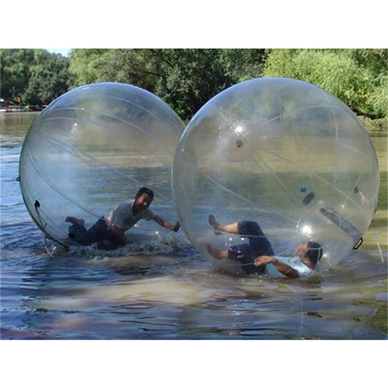 New Toy 2018 Human Bubble Ball Inflatable Walk On Water Ball For Swimming Pool Floating Walking Balloons Germany TITZIP Zipper
