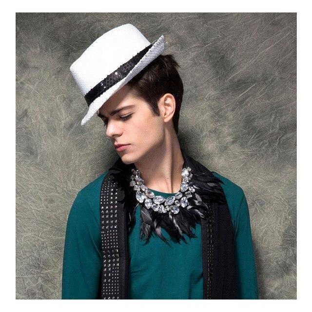 630ed5dfccf Hot sale men fedora hat fashion dress men top hat British style fedora hats  for men brand men hat