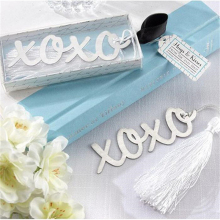 1Pc Creative XOXO Bookmark Wedding Favor