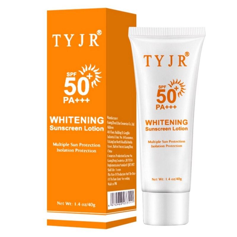 SPF50+ Facial Whitening Body/Face Sunscreen Sunblock Skin Protective Cream Anti-Aging Oil-control Moisturizing Suncream