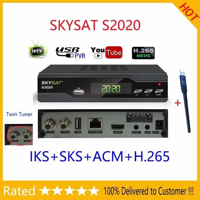 3093 37 руб  |[Подлинный] SKYSAT S2020 Twin спутниковый тюнер ИКС SKS ACM  IPTV M3U H 265 наиболее стабильный сервер Full HD Каналы купить на