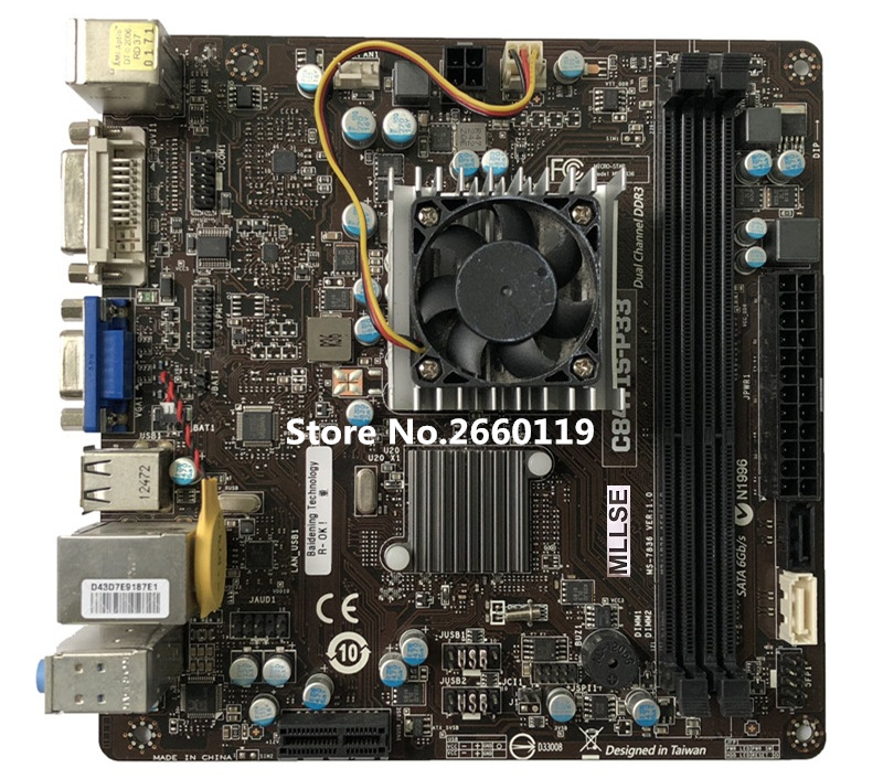 Desktop mainboard for C847IS-P33 MS-7836 17X17 ITX motherboard Fully tested frico p33