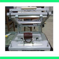 Fast Free Shipping Manual Screen Cylinder Printing Machine For Bottle Cup Pen Surface Curve Press