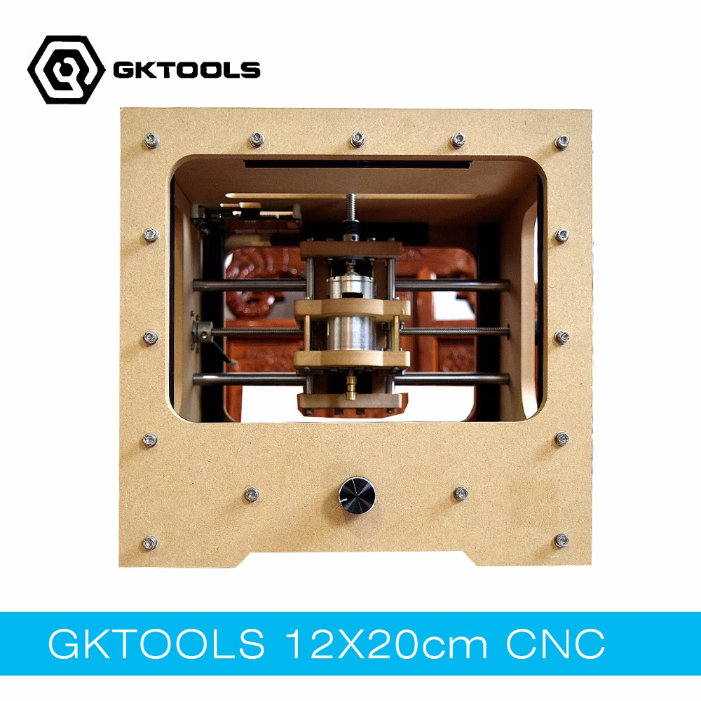GKTOOLS 20cmx12cm DIY Desktop font b CNC b font Engraving Machine font b CNC b font