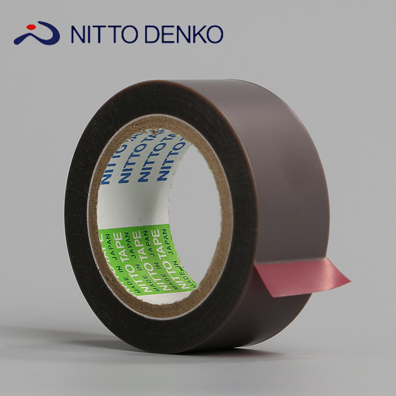 19mmx10m/Roll Thickness 0.08mm Adhesive tape coated with single surface silicone adhesive on Fluoroplastic Film.PTFE No.903UL Клейкая лента