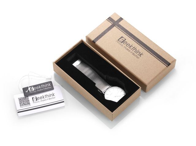 Extra Geekthink Original  Carton Paper Box Fee , Not included Watch