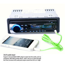 JSD 520 Bluetooth Car In Dash Stereo FM AUX Receiver Audio 1 DIN USB MP3 Radio Antennas de voiture Antenna do car AES For Car#20(China)