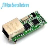 2pcs Ethernet Module Network To Serial Port RJ45 To TTL Network Port USR TCP232 T2
