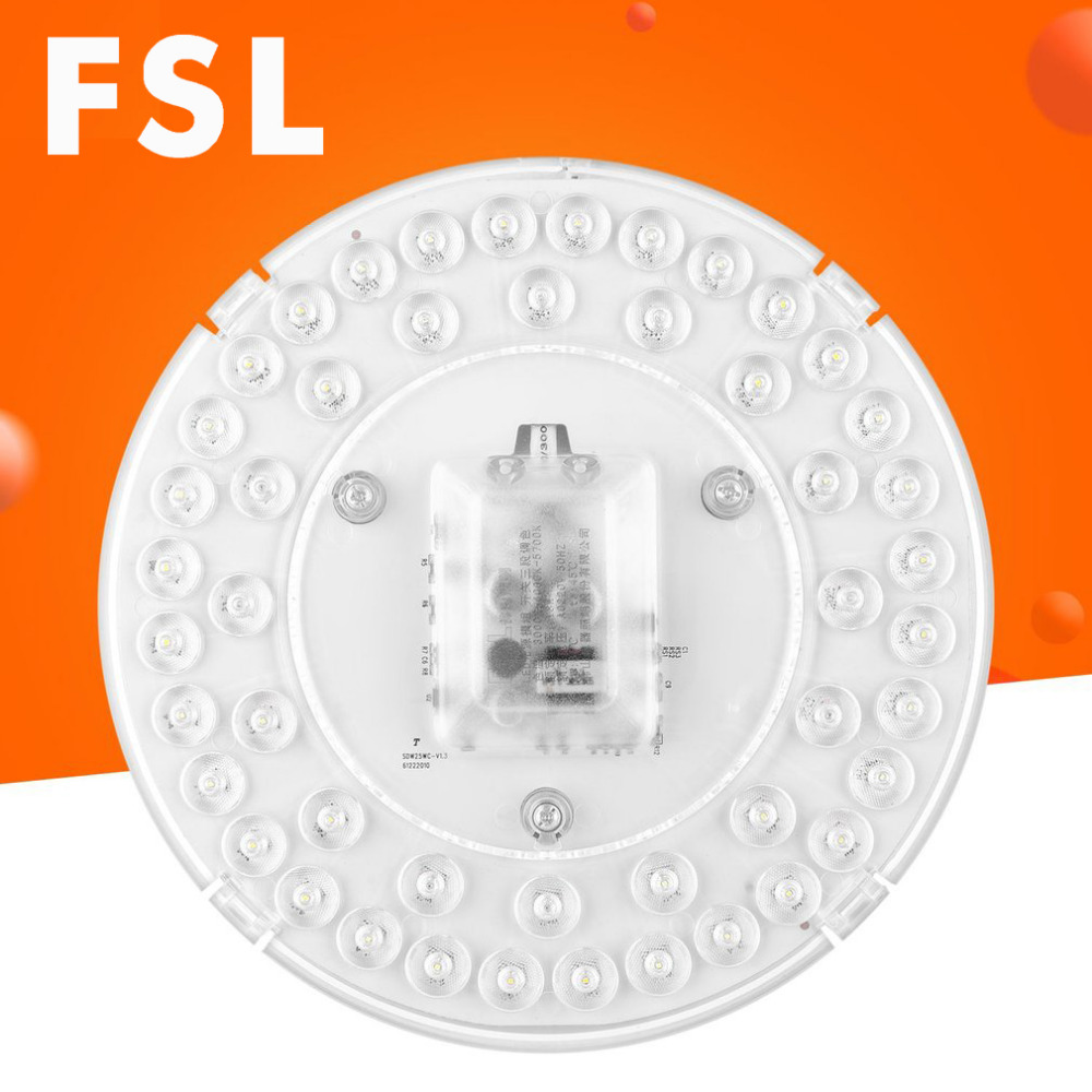 fsl 14w 18w 25w dimmable round magnet installation led. Black Bedroom Furniture Sets. Home Design Ideas