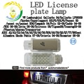 Led Number License Plate kit Fit For Audi A2 A3 S3 A4 S4 A5 S5 A6 S6 RS6 A8 S9 Q5 Q7 YY R8 Seat Alhambra (pack x2pc)