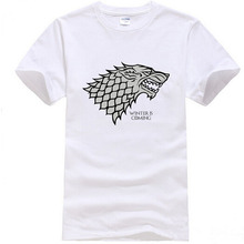 Stylish T-shirt with Game of Thrones Themed Print
