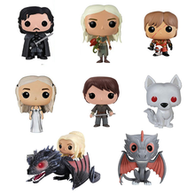 Game of Thrones Ygritte Melisandre Jon Snow Daenerys Targaryen Drogon Ghost Tyrion Lannister Toy Figures Children Toys 2019 Hot цена и фото