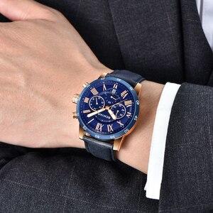 Image 3 - 2018 BENYAR שעונים גברים יוקרה מותג קוורץ שעון אופנה הכרונוגרף ספורט Reloj Hombre שעון זכר שעה relogio Masculino