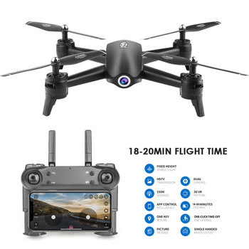 2K Drone S165 Optical Flow Positioning Dual Camera Intelligent Follow RC helicopter HD Aerial Camera Quadcopter 1080p/720P/2k